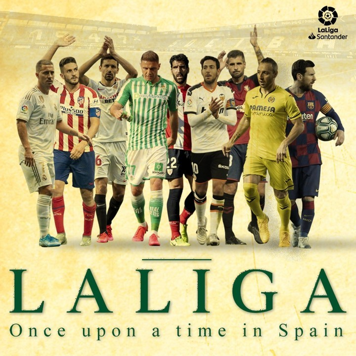 La Liga will be back on June 11 - Name the team you support!