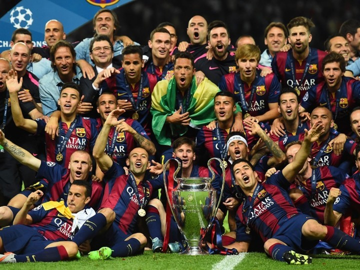 OTD in 2015, Barcelona beat Juventus to win the 5th Champions League title 🏆