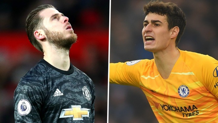'He was destroyed' - Kepa compared to De Gea who wants to prove worth at Chelsea