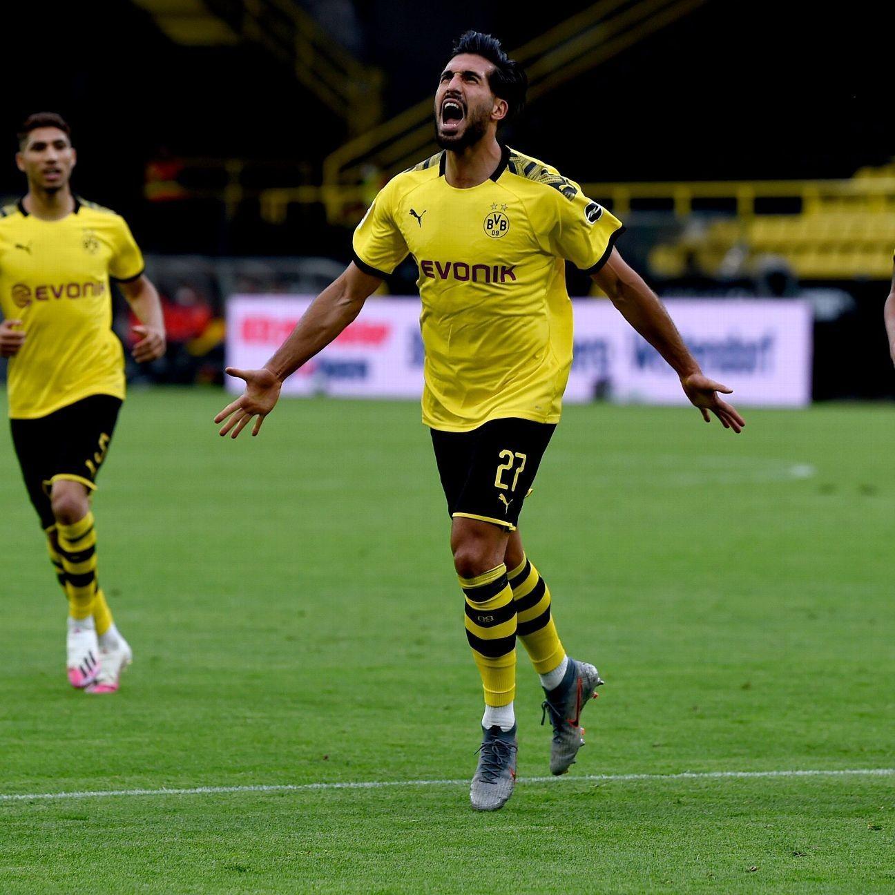 Borussia Dortmund beat Hertha Berlin to keep pace with Bayern Munich