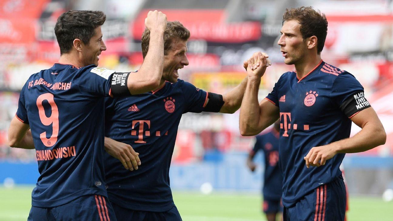 Bayern support Black Lives Matter, ease past Havertz-less Leverkusen; Dortmund need Haaland deputy