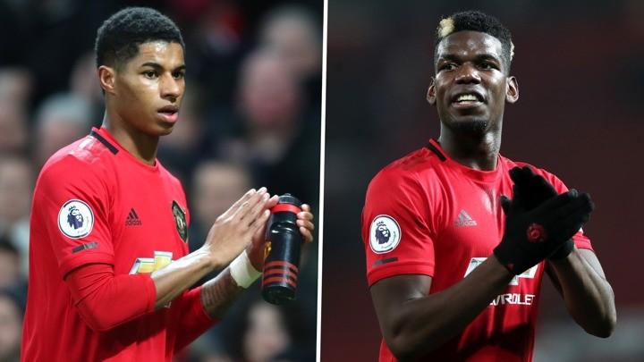 Man Utd stars return for training game
