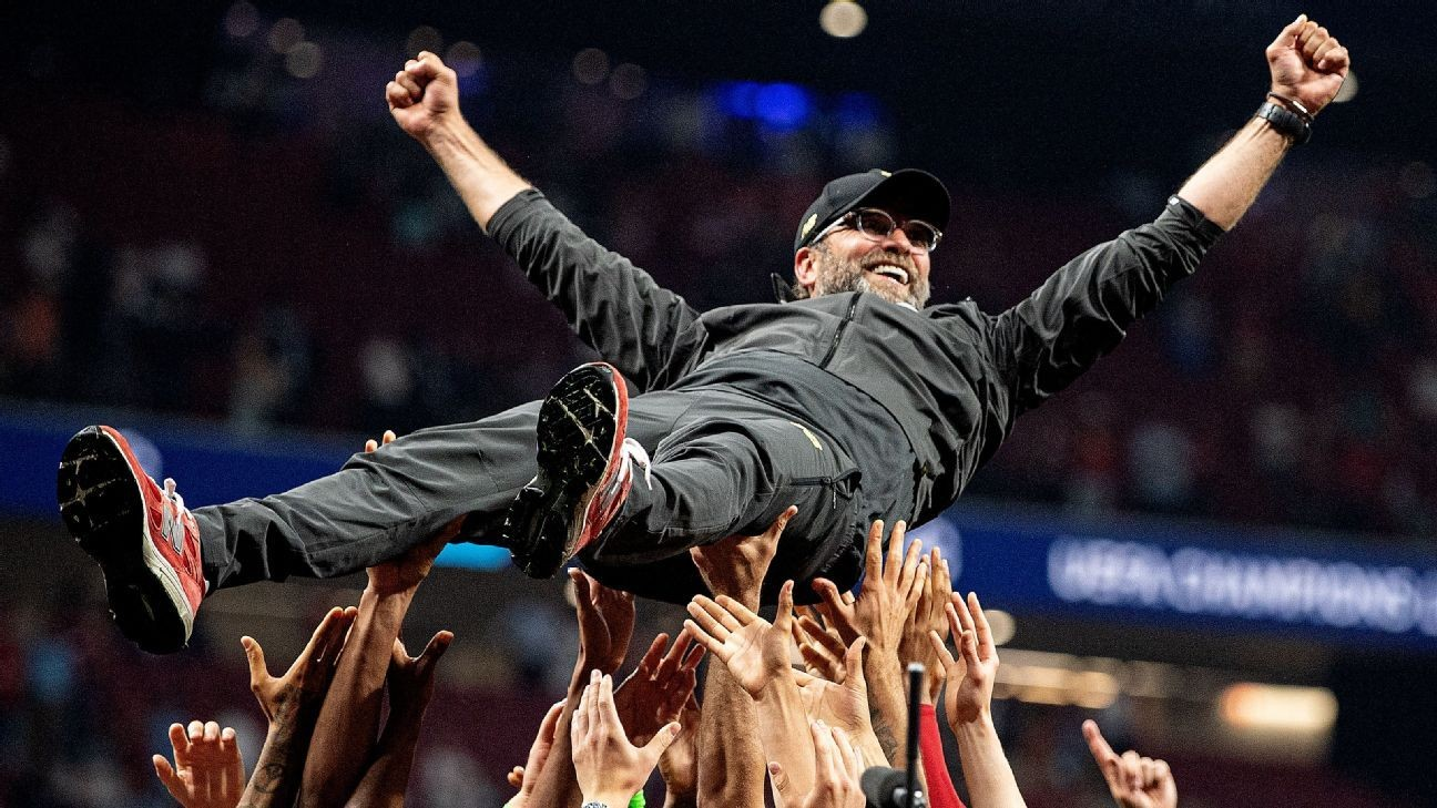 Klopp on Liverpool's title: 'Best thing I could ever imagine""