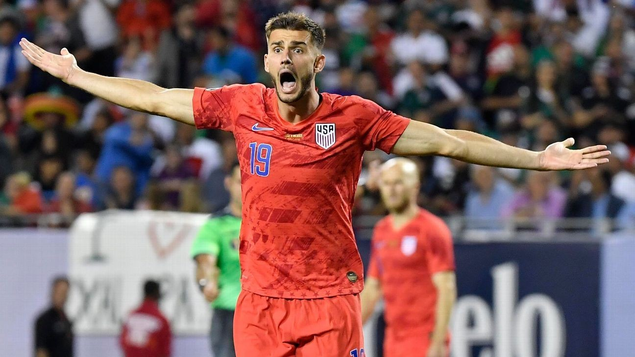 U.S.'s Miazga suspended three matches for fight