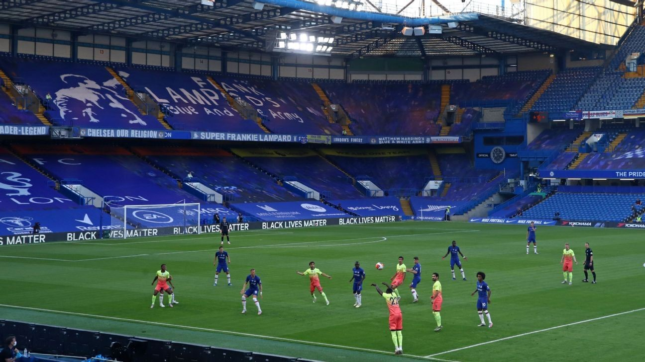 Premier League games with no fans: How players, coaches cope with the silence