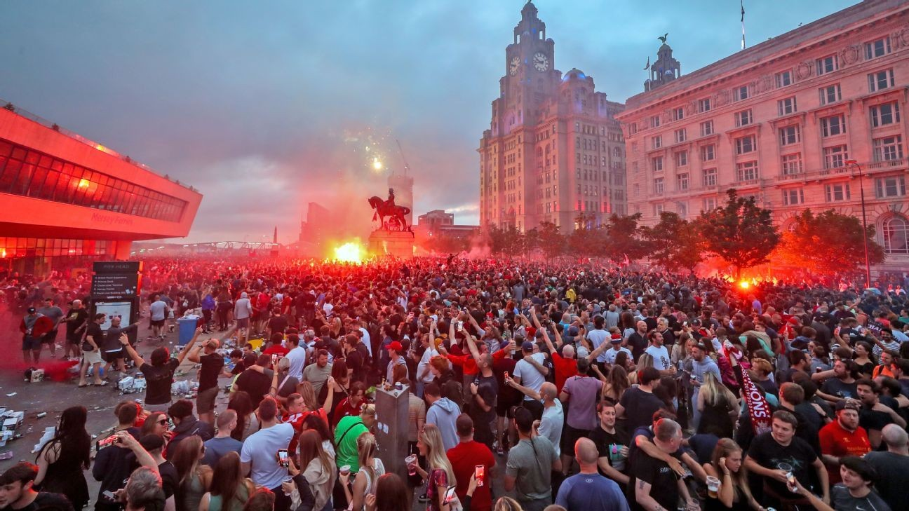 Liverpool title party 'got out of hand' - PL chief