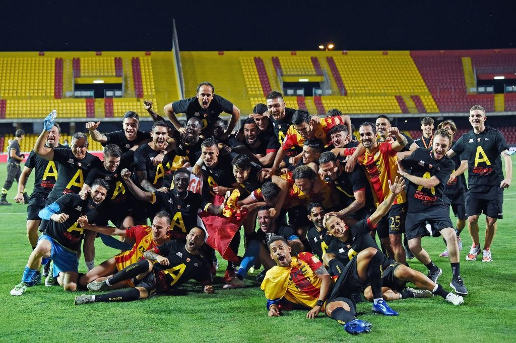 BENEVENTO PROMOTED TO SERIE A TIM
