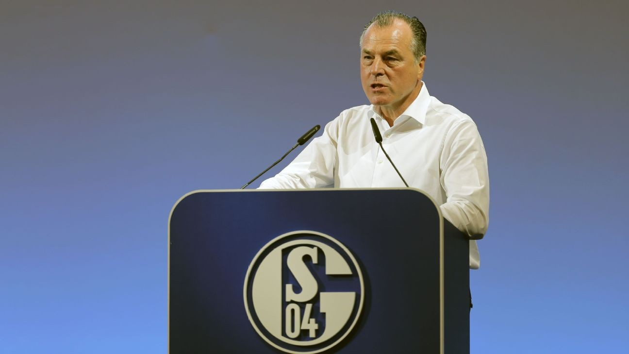 Schalke chief forced out after '19 racist remarks
