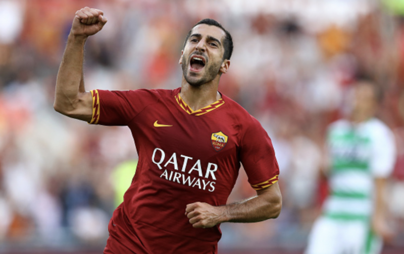 Roma and Arsenal agree to extend Mkhitaryan stay