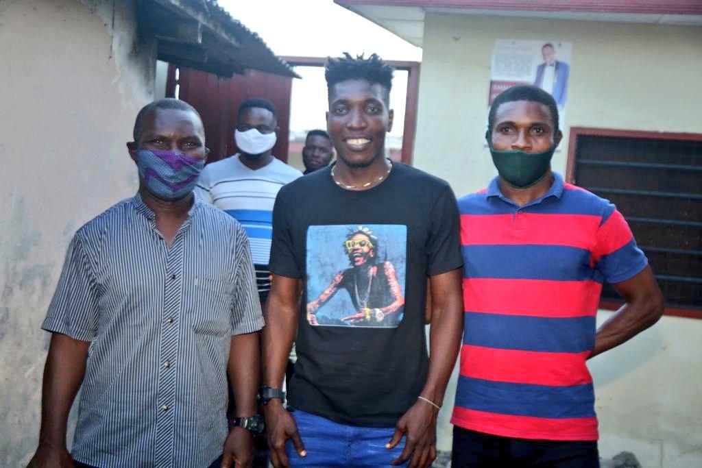 PHOTOS: Hearts of Oak mourn with midfielder Benjamin Afutu