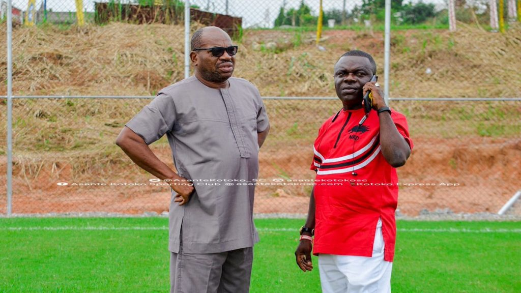 Breaking News: Kotoko management dissolved, CEO George Amoako loses his job