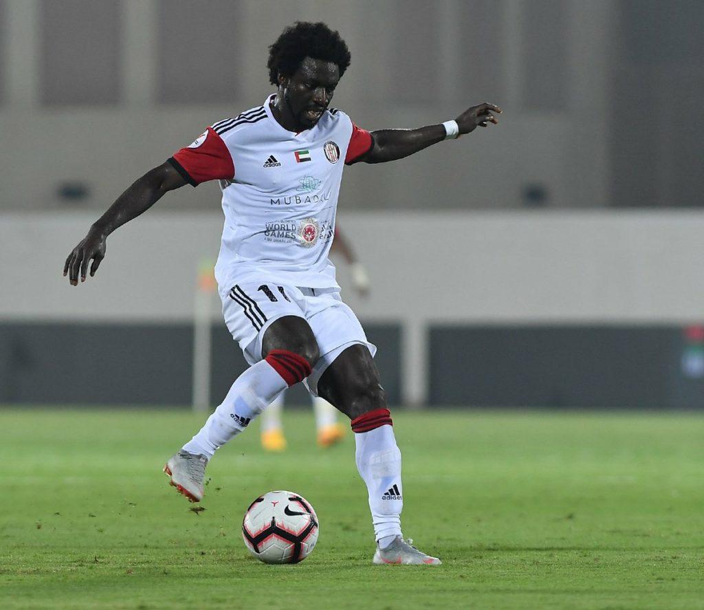 UAE side Al-Fujairah part ways with Ghanaian winger Ernest Asante