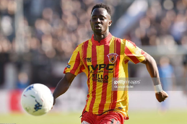 Ghanaian defender Bright Gyamfi clinches Italian Serie A promotion with Benevento