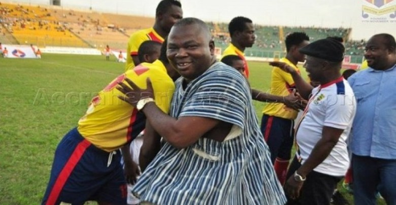 Albert Commey warns against treating football like partisan politics