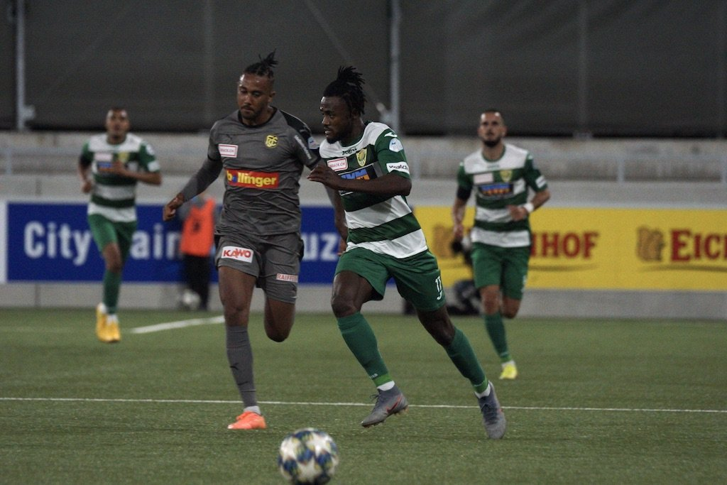 In-form Asumah Abubakar hits target as SC Kriens rally to hold Grasshoppers