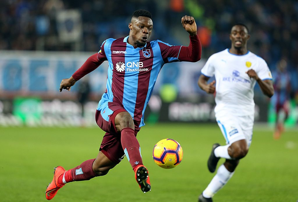 Trabzonspor star Caleb Ekuban in line for quicker-than-expected injury return against Galatasaray