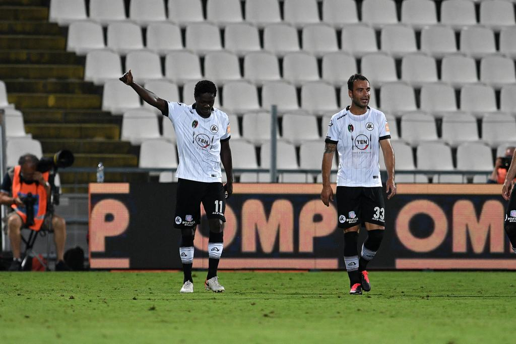 Emmanuel Gyasi nets seventh goal of the season as Spezia suffer home defeat to Pisa