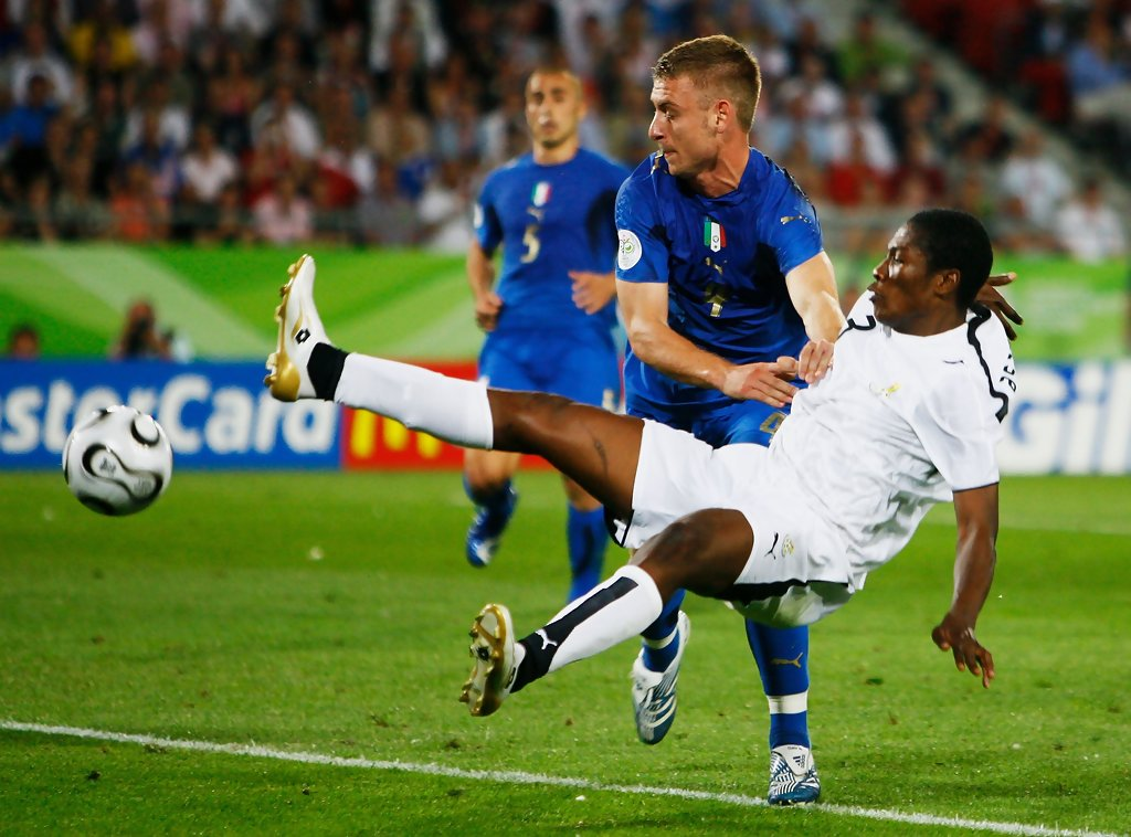 VIDEO: Asamoah Gyan recalls debut game at 2006 World Cup against Italy