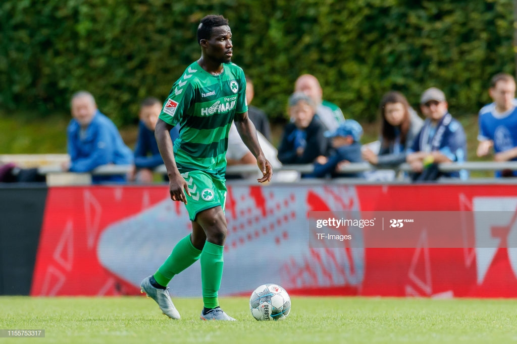 Greuther Fürth midfielder Han Nunoo Sarpei reveals interest in Boxing