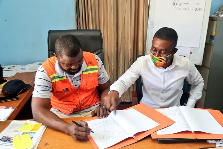 PHOTOS: Hearts sign MOU with K.A Esatate Ltd to begin Pobiman Project