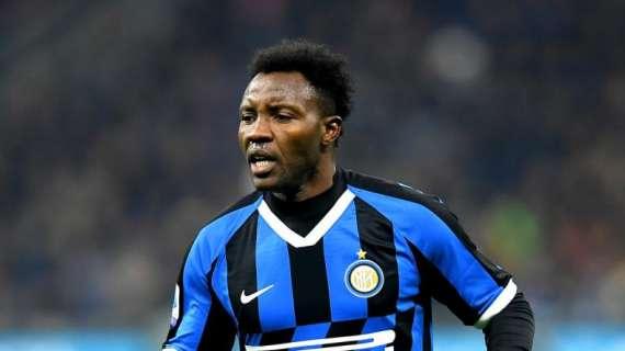 Inter Milan want to terminate Kwadwo Asamoah's contract