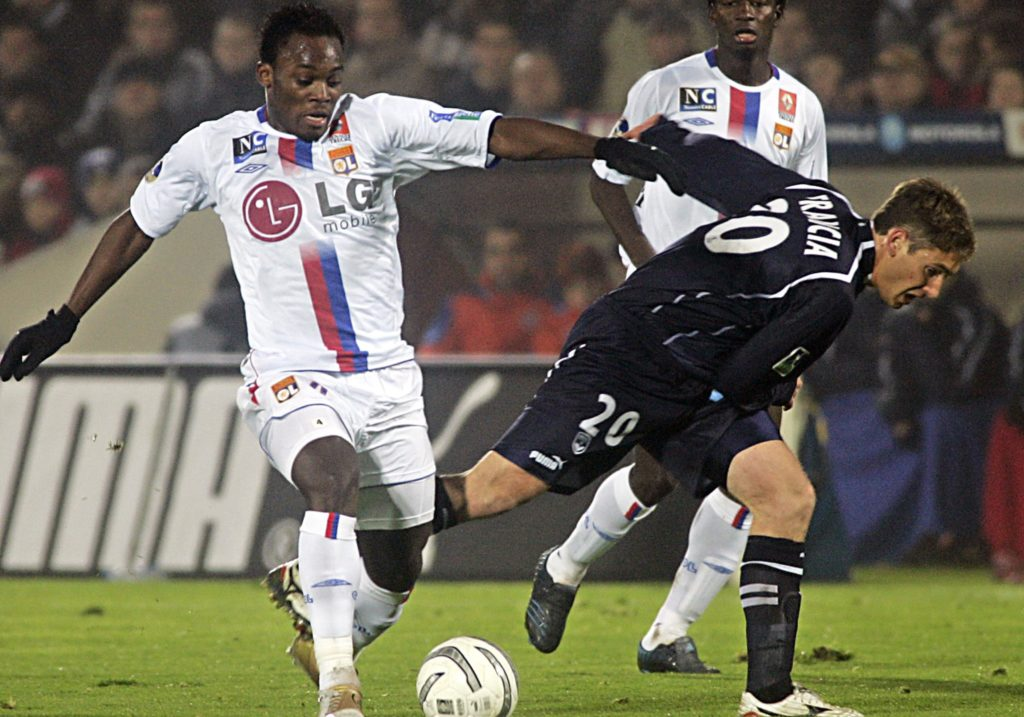 VIDEO: Ghana star Michael Essien's best goals with French giants Lyon