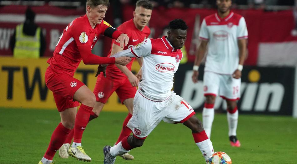 Kelvin Ofori features as Fortuna Dusseldorf draw against TSG Hoffenheim