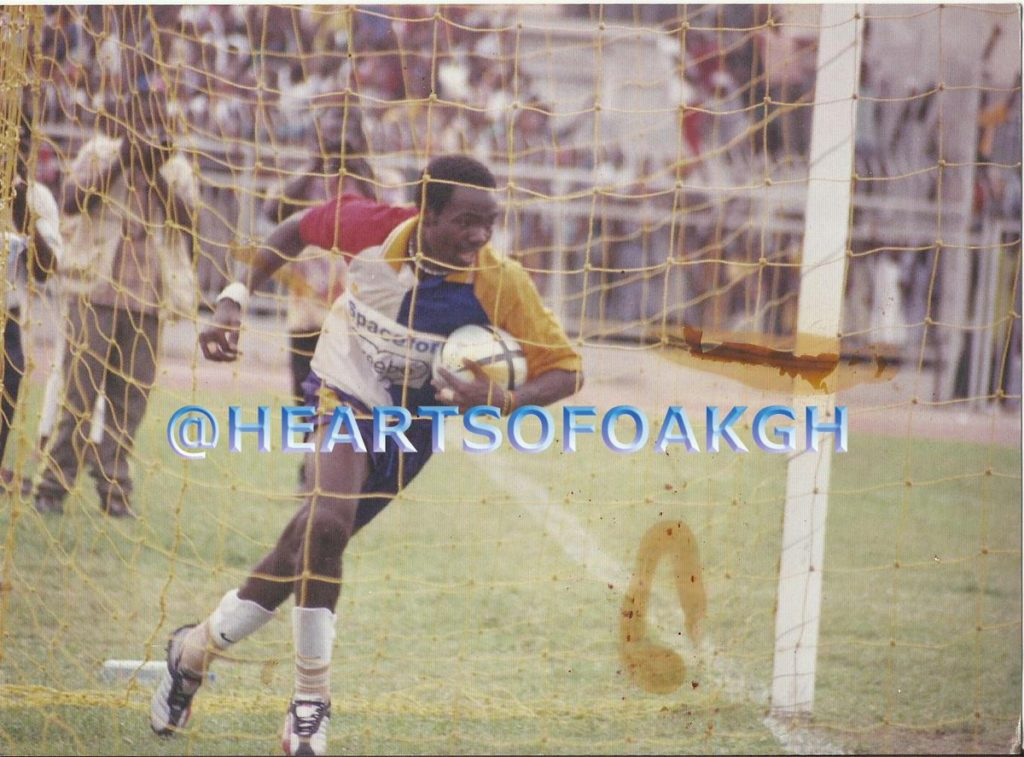 Prince Tagoe wants to play for Hearts again before retiring