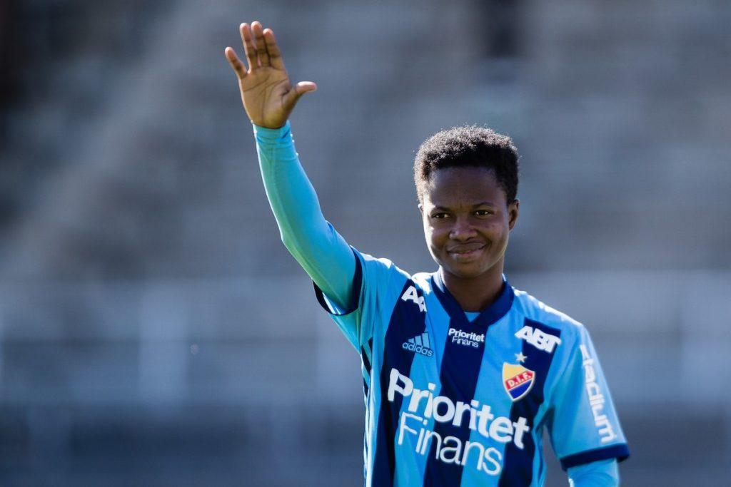 Black Queens winger Portia Boakye scores first league goal in Swedish top-flight