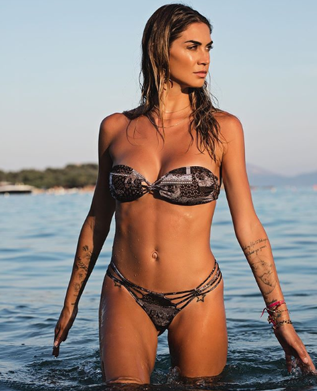 Kevin Boateng's wife Melissa Satta wows fans as she shares 'real body' bikini pic