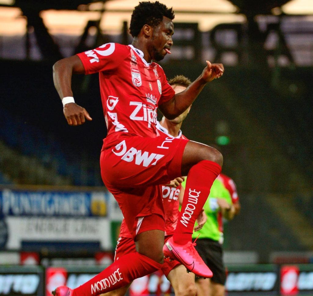 VIDEO: Samuel Tetteh scores again for LASK Linz to highlight best ever form in top division