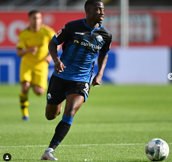 Antwi-Adjei features as Paderborn suffer heavy defeat to Dortmund