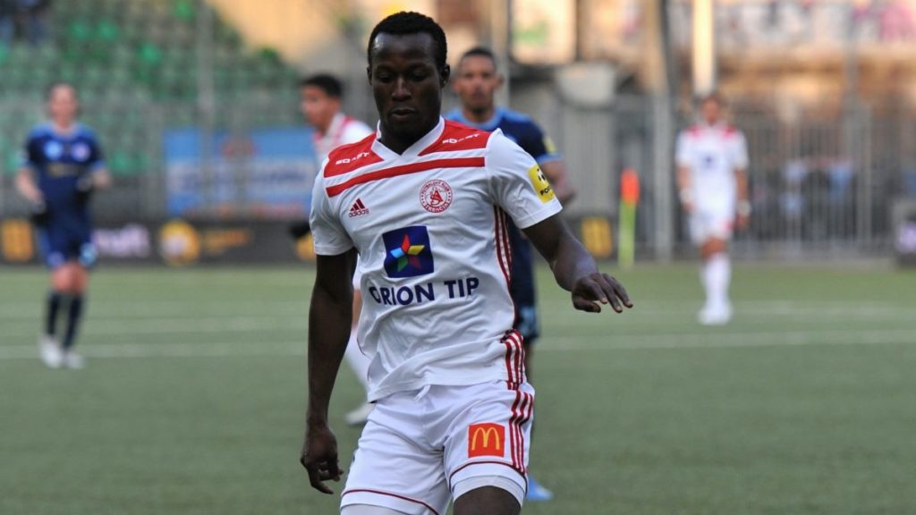 In-form Osman Bukari seals victory for AS Trencin against Moravce with season's tenth goal