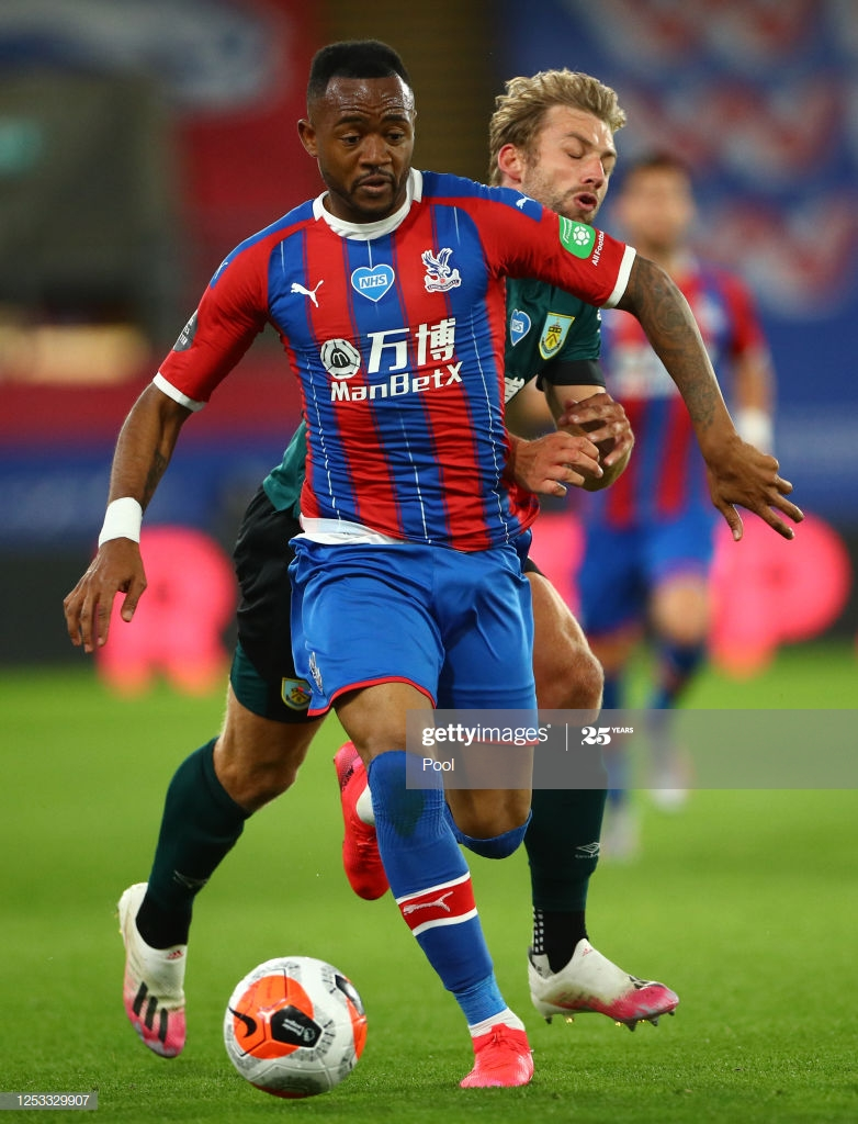 Crystal Palace boss pleased with decision not to send Jordan Ayew off against Burnley