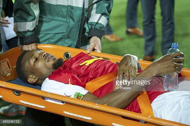 Jerry Akaminko remembers injury that ruled him out of 2014 World Cup