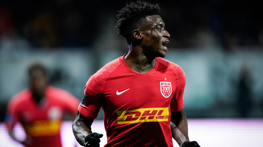 Kudus Mohammed shortlisted for Young Player of the month award in Denmark