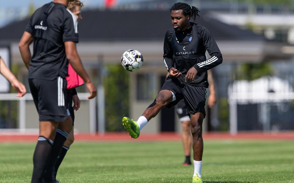 Kwame Kizito making progress to return from injury