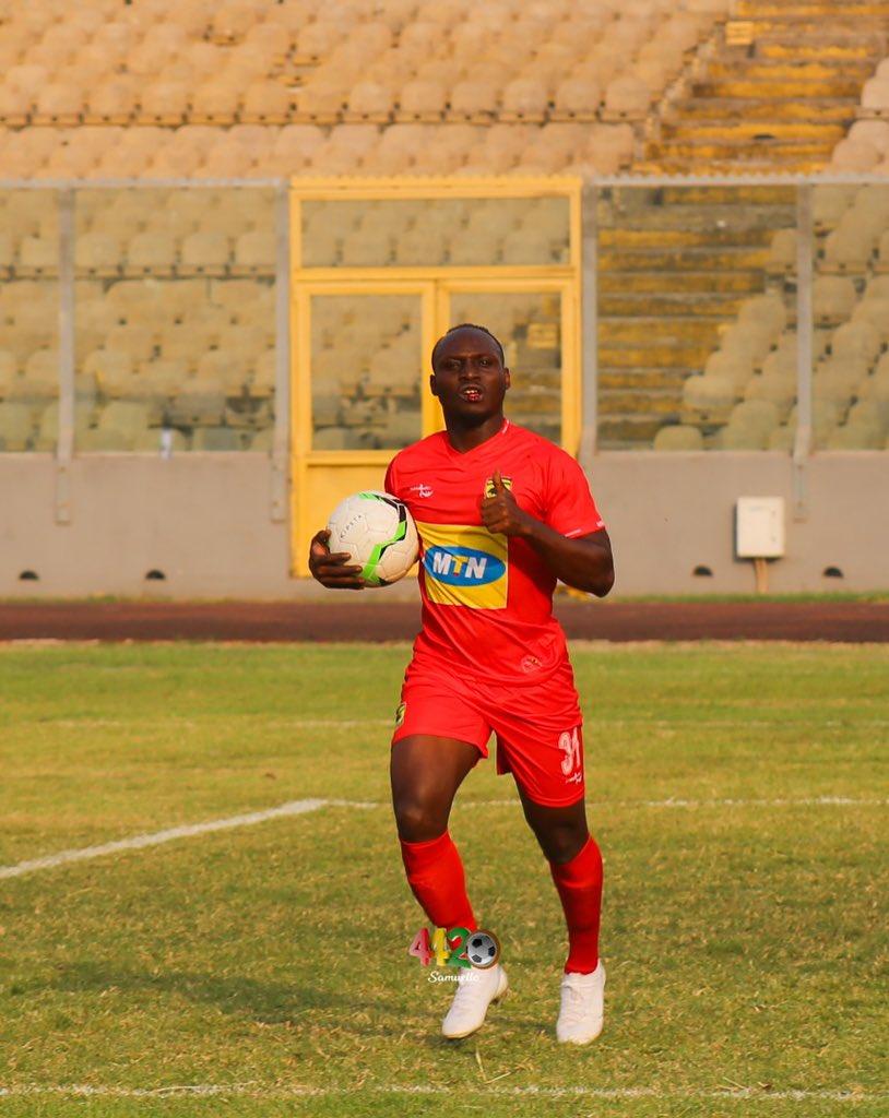 Kotoko in talks with striker William Opoku Mensah over new contract