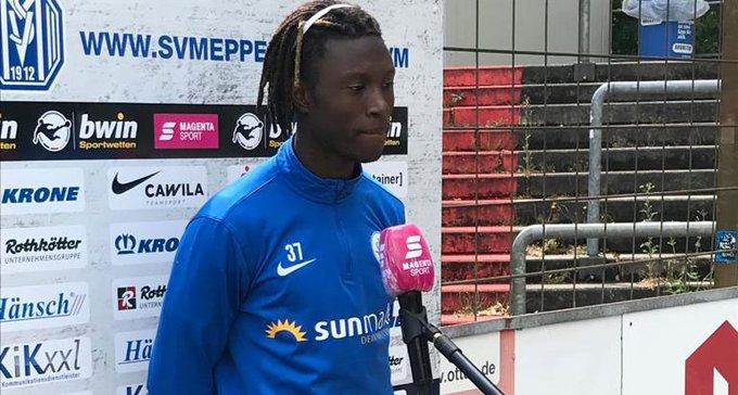 Two-goal hero Aaron Opoku-Tiawiah insists Hansa Rostock deserved victory against SV Meppen