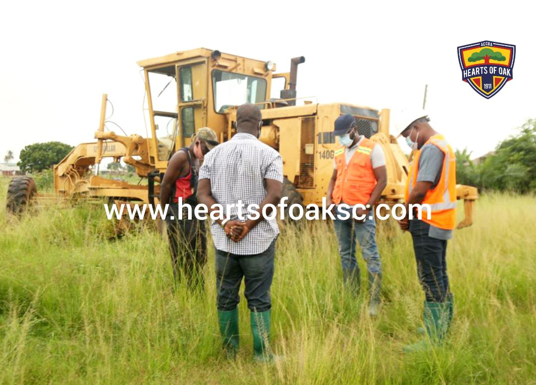 PHOTOS: Work on Hearts of Oak Pobiman Project commences