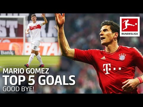 Mario Gomez - Top 5 Goals