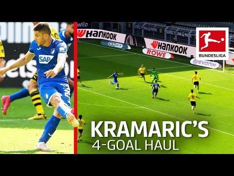 Andrej Kramaric - Four Goals vs. Dortmund | No-Look Penalty and Long Range Stunner