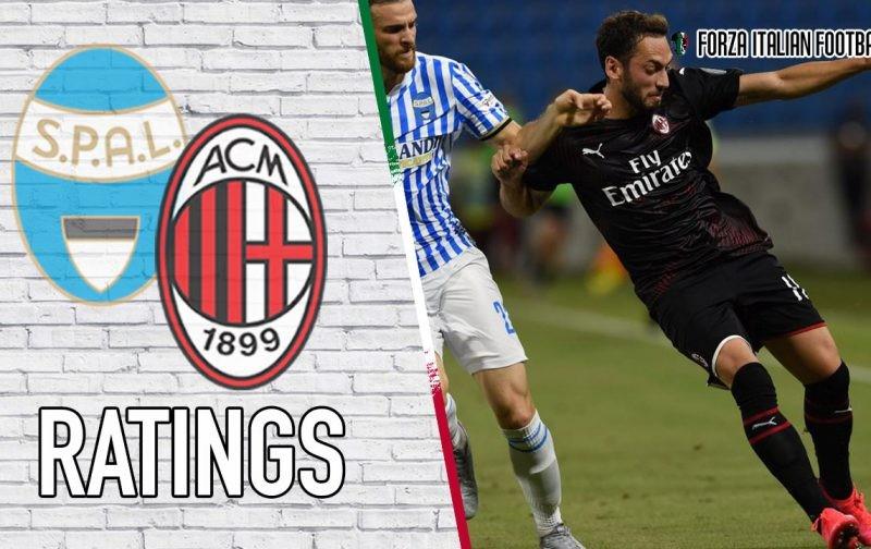 AC Milan player ratings: Calhanoglu's efforts not enough
