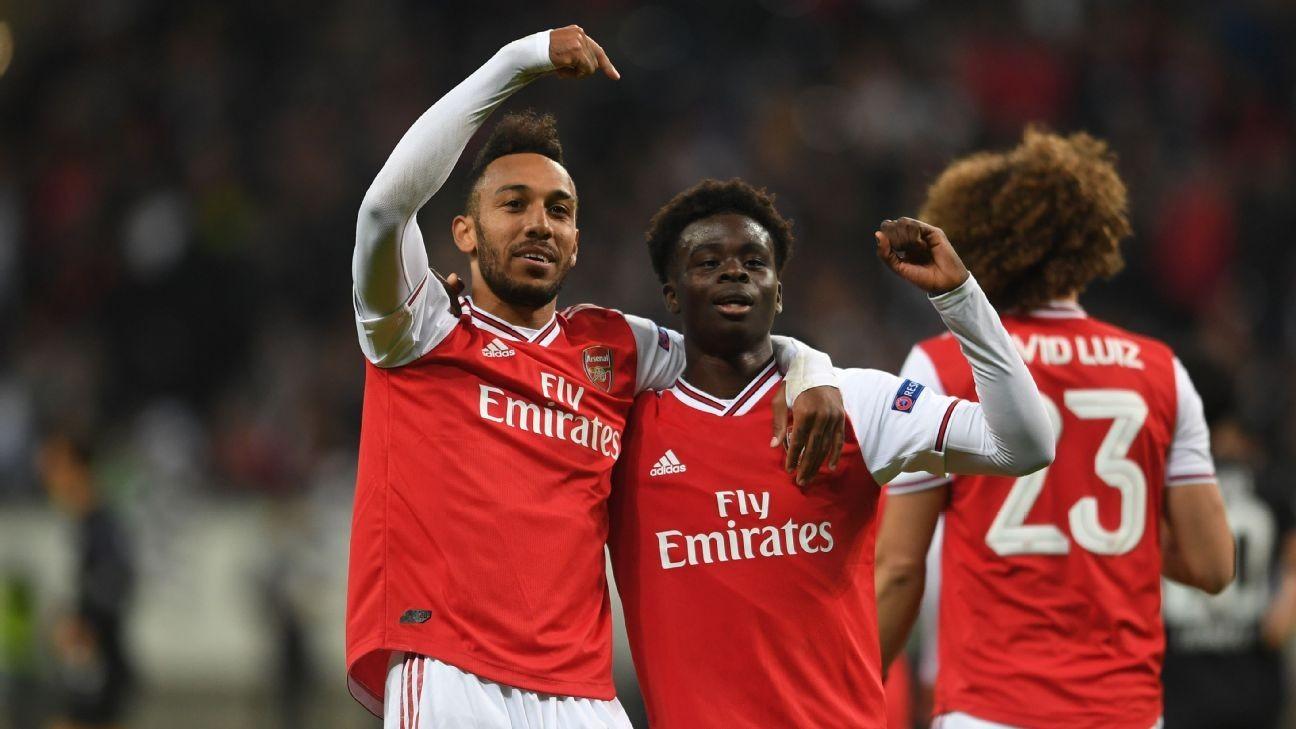 Transfer Talk: Aubameyang ready to stay at Arsenal with Saka