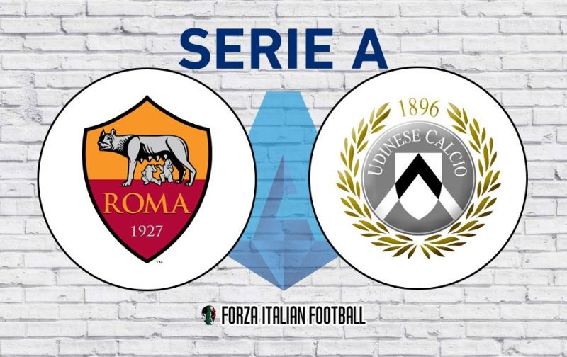 Roma v Udinese: Probable Line-Ups and Key Statistics