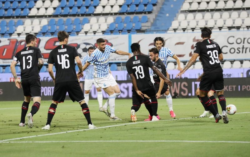 Scraping a draw against ten-man basement dwellers shouldn't paper over AC Milan's problems
