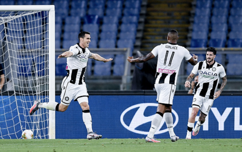 Udinese shock Roma to end winless run in style