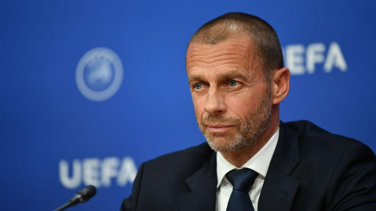 UEFA president Ceferin on Champions League, Black Lives Matter, COVID-19 impact