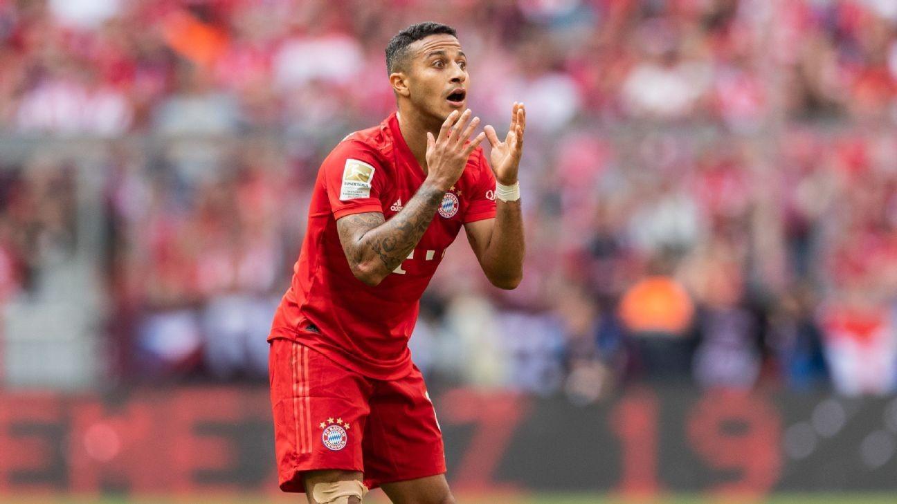 Liverpool target Thiago wants Bayern exit - chief