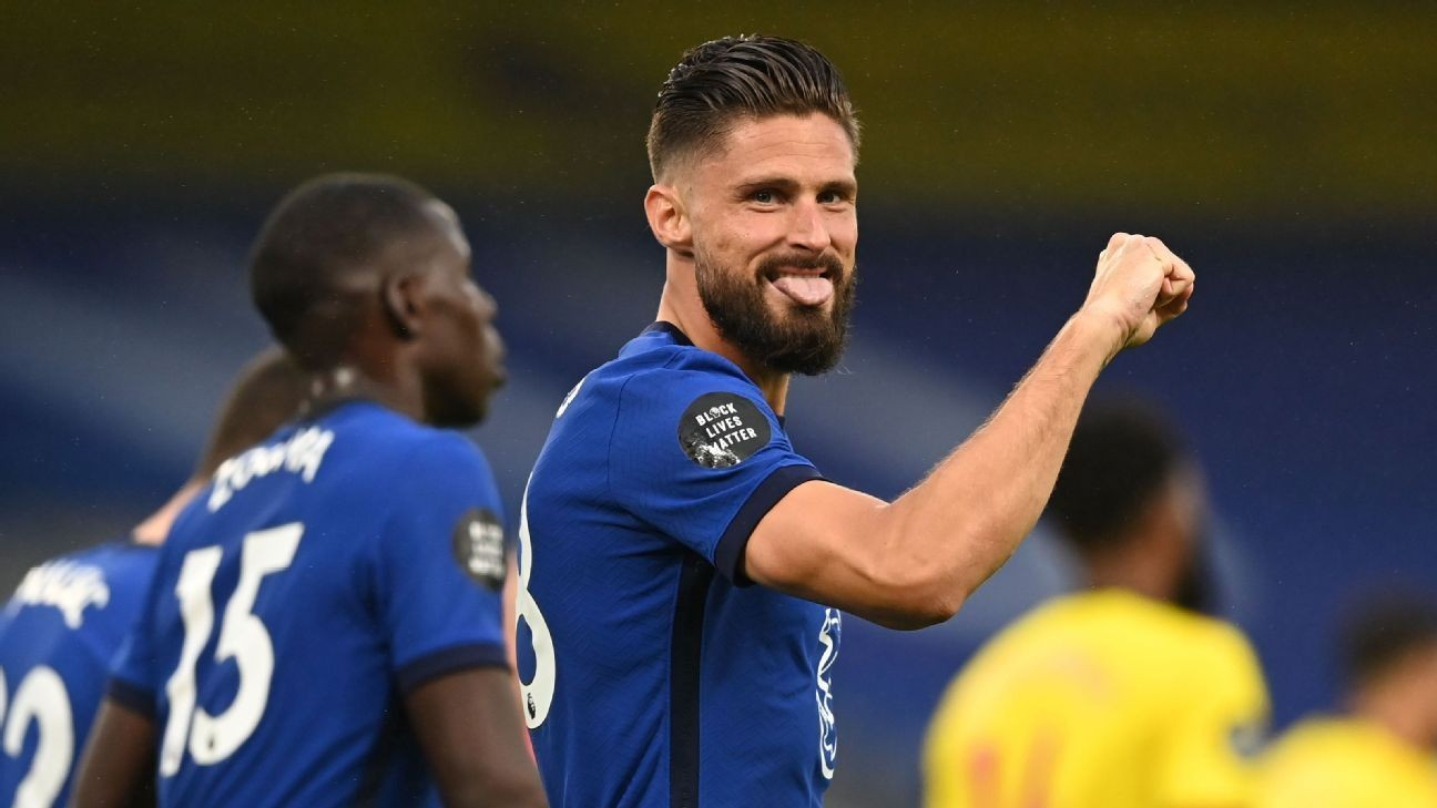 Giroud seizing opportunity to lead Chelsea's line. Will Abraham respond?